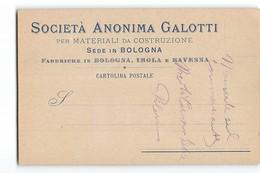 15277 BOLOGNA SOC. ANONIMA GALOTTI - Publicités