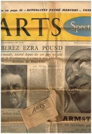 Arts Spectacle N°543 Liberez Ezra Pound Armstrong Actualités Pathé Marconi Théâtre Japonnais ... - 1950 - Heute