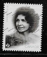 CANADA 2015,USED #2850,  ALICE MUNRO: Canadian Author & Nobel Prize Winner Born In Wingham Ontario ( NEW ISSUE  JULY 10) - Carnets