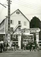 PIE18-F-3756 : COLONIE DE VACANCES JOUE LES TOURS. SAINT CYR SUR LOIRE. MARENNES 1969. PHOTO - Saint-Cyr-sur-Loire