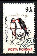 ROUMANIE. N°4072 De 1993 Oblitéré. Hirondelle. - Swallows