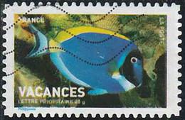 France 2007 Yv. N°AA119 - Vacances - Poisson-chirurgien - Oblitéré - Autoadesivi