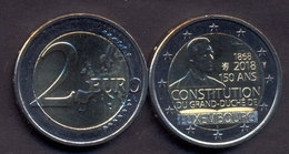 Luxembourg 2 Euro 2018 UNC > Constitution - Luxembourg