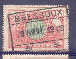 K162  Belgie Spoorwegen Chemin De Fer  Stempel BRESSOUX - Railway