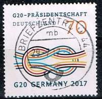 Bund 2017, Michel# 3291 O G 20 : Praesidentschaft Deutschland - BRD