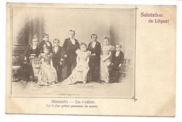 Salutation Du LILIPUT ! - Munstedt's - Les Colibris - Les 9 Plus Petites Personnes Du Monde - Men