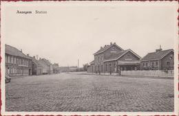 Anzegem Statie Station Railway Station (In Zeer Goede Staat) - Anzegem