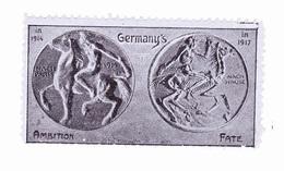 Vignette Militaire Delandre - Patriotique - Germany's - Erinnofilia