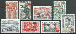 Cameroun YT N°320/327 Réunification Neuf ** - Cameroon (1960-...)