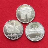 Korea North 3 X 1 Wona 1987 Cu-ni - Korea, North