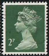 GB 1988 Yv. N°1324 - 2p Vert - Oblitéré - Machin-Ausgaben