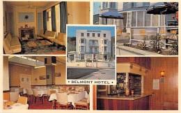 UNITED KINGDOM ENGLAND ( Wales Caervnarvonshire ) LLANDUDNO - HEBSHAW'S BELMONT HOTEL - CPSM PF - Royaume Uni Engeland - Caernarvonshire