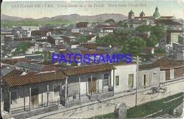 96459 CUBA SANTIAGO VISTA DESDE TIVOLI BREAK POSTAL POSTCARD - Postcards