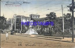 96462 CUBA PARQUE DE AGUILERA RAILROAD POSTAL POSTCARD - Postcards