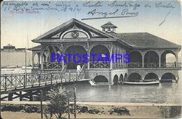 96464 CUBA CLUB NAUTICO BUILDING BREAK POSTAL POSTCARD - Postcards