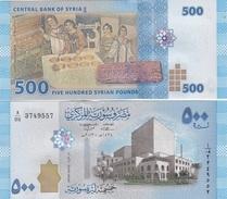 Syria - 500 Pounds 2013 UNC Lemberg-Zp - Siria