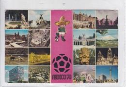 VISTAS DE LA CIUDAD. CRISTACOLOR. CIRCULEE TO MONTEVIDEO. CIRCA 1960's- BLEUP - Mexico