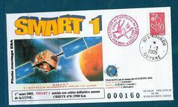 ESPACE - 2004/11 -  Sonde SMART 1 - 1ère Périlune - CSG - 1 Document - Europa