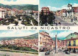 NICASTRO /  Saluti Con Vedutine _ Viaggiata - Lamezia Terme