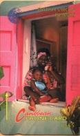 Virgin Islands - GPT, MV: BVI-10B, 10CBVB, Woman And Child (New Logo), 20.000ex, 1993, Used As Scan - Virgin Islands