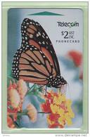 New Zealand - 1994 Auction Bidders Card - $2 Monarch Butterfly - NZ-P-33 - Mint - New Zealand