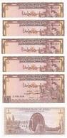 Syria - 5 Pcs X 1 Pound 1982 AUNC+ Ukr-OP - Syrien