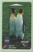 New Zealand - 1994 Amcal Chemist - $5 Penguins - NZ-A-39 - Very Fine Used - New Zealand