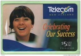 New Zealand - 1995 Telecom Staff Profit - $5 Our Success - Mint - NZ-P-43 - New Zealand