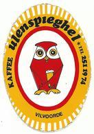 Sticker - KAFFEE Ulenspieghel - Vilvoorde - UIL - Café - Stickers