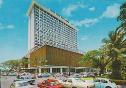 [51] MANILA, Hilton. Hotels / Hoteles. Sent To / Enviada A Barcelona, Spain (1973). - Filipinas