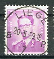 COB 1067  Obl Liège (B3530) - 1953-1972 Brillen