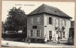 76 - RICHEMONT - CAFE POIRET - ANIMEE - TRES BEL ETAT - France