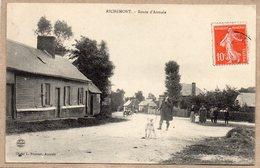 76 - RICHEMONT - ROUTE D'AUMALE - ANIMEE - 1908 - Frankreich