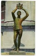 STRATFORD ON AVON : PRINCE HAL'S STATUE / POSTMARK - DONCASTER / ADDRESS - MIDDLE HANDLEY, Nr. CHESTERFIELD - Stratford Upon Avon