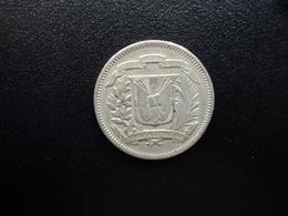 RÉPUBLIQUE DOMINICAINE : 5 CENTAVOS   1972     KM 18       TTB - Dominicana