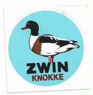 Sticker - ZWIN - KNOKKE - BERGEEND - Stickers