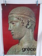 AFFICHE:  GRECE  , H 100 L 68,8 - Affiches