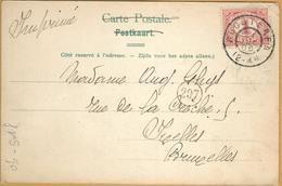 Op-518: N°51: ROOSTEREN > Ixelles : Pk: Maeyseyck Marktplaats - Periode 1891-1948 (Wilhelmina)