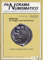 Rivista - Panorama Numismatico - Eracle - Un Cotaggio E Una Testa Da Leone - N.72 Febbraio 1994 - Italiano