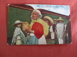 Fruit Vendor Interoceanic Railway Mexico Has Stamp & Cancel Ref. 3011 - Mexique