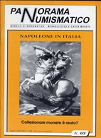 Rivista - Panorama Numismatico - Napoleone In Italia - N.93 Aprile 1993 - Italian