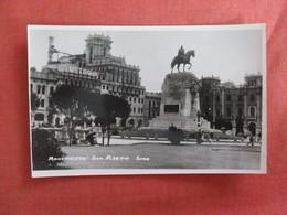 RPPC---Monument Of San Martin  Lima  Peru    Ref 3011 - Peru