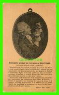CÉLÉBRITÉS - MAXIMILIEN DE ROBESPIERRE (1758- 1794) - PRESSANT UN COEUR POUR EN BOIRE LE SANG - THERMIDOR - BRUNET. LIB. - Célébrités