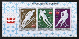 BURUNDI  Scott # 494-4,C 234-6 ** VF MINT NH PLUS Souvenir Sheets 494a And C 236a SS-286 - Burundi