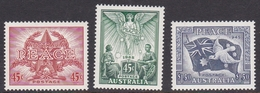 Australia ASC 1510-1512 1995 50th Anniversary Peace In The Pacific, Mint Never Hinged - 1990-99 Elizabeth II