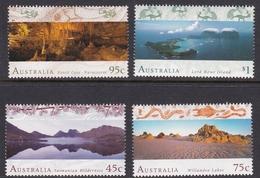 Australia ASC 1537-1540 1996 World Heritage Areas, Mint Never Hinged - 1990-99 Elizabeth II