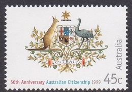 Australia ASC 1716 1999 50 Years Of Australian Friendship, Mint Never Hinged - 1990-99 Elizabeth II