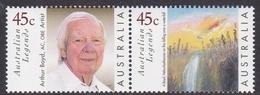Australia ASC 1717-1718 1999 Australian Legends, Arthur Boyd, Mint Never Hinged - 1990-99 Elizabeth II