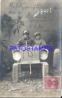 96570 AUTOMOBILE AUTO CAR WOOD ART AND CHILDREN POSTAL POSTCARD - Cartes Postales