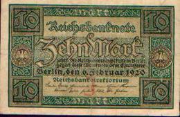 ALLEMAGNE – Reichsbanknote – 10 Mark – 06/02/1920 - 10 Mark